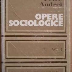 Opere Sociologice Vol.1 - Petre Andrei ,273540