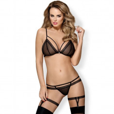 Set 3 piese Obsessive 855, S/M