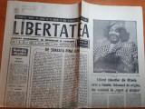 Libertatea 29-30 octombrie 1990-liderul minerilor este o femeie cubaneza