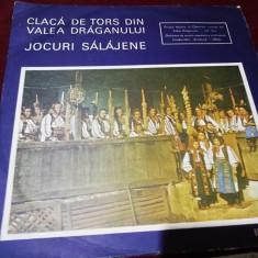 DISC VINIL  CLACA DE TORS DIN VALEA DRAGANULUI JOCURI SALAJENE