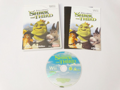 Joc Nintendo Wii - Shrek The Third foto