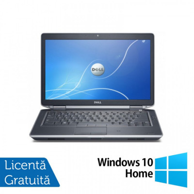 Laptop DELL Latitude E6430, Intel Core i7-3720QM 2.60GHz, 4GB DDR3, 320GB SATA, DVD-RW, 14 Inch + Windows 10 Home foto