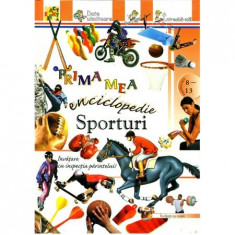 Prima mea enciclopedie: Sporturi(Elektra)