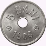 ROMANIA, 5 BANI 1906 J_UNC * cod 112.4.19