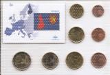 Finlanda Set 8A - 1, 2, 5, 10, 20, 50 euro cent, 1, 2 euro 1999 - UNC !!!