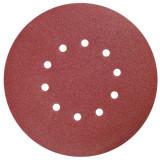 Disc abraziv perforat pentru slefuit diametru 225 mm granulatie 80 Dedra