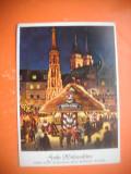 HOPCT 64987 FELICITARE CRACIUN   GERMANIA -STAMPILOGRAFIE-CIRCULATA