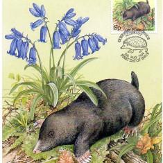 ALDERNEY 1994, CM, Fauna, Flora,  Maxime