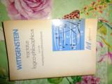 Tractatus logico-philosophicus 364pagini/carte in limba franceza - Wiitgenstein
