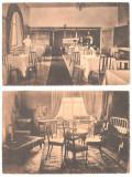 SV * Techirghiol * 2 x HOTEL PRINCIPESA MARIA * RESTAURANTUL * DORMITOR CU SALON, Circulata, Necirculata, Fotografie, Printata