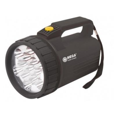 Lanterna proiectoare Mega, 13 leduri, 4 x D, 170 mm foto