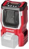 Radio Einhell 3408015, fara acumulator si incarcator (Rosu)