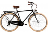 Bicicleta oras Dhs 2833 Citadinne L negru 28 inch