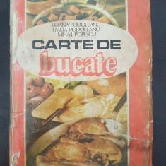 CARTE DE BUCATE - Podoleanu