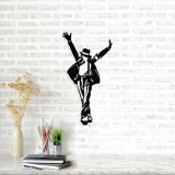Cumpara ieftin Decoratiune pentru perete, Ocean, metal 100 procente, 36 x 69 cm, 874OCN1055, Negru