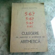 Culegere de exercitii si probleme de aritmetica - Ivanca Olivotto