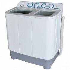 Masina de spalat rufe semi-automata Heinner HSWM-84WH 8kg+4.6 kg 1320 RPM 2 cuve Alb foto