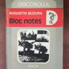 Bloc notes- Augustin Buzura