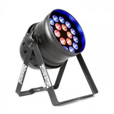 Cumpara ieftin Beamz BPP210, reflector cu LED pereche, 64, 18 x 12 W, 4-in-1, cu LED-uri, inclusiv telecomandă