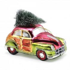 Ornament pentru bradul de Craciun masina vintage