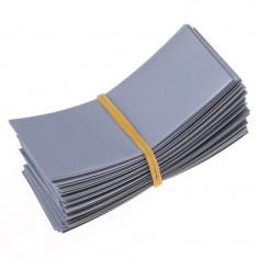 50 Bucăți 72/30mm tuburi PVC termocontractabile pe Culoare Gri