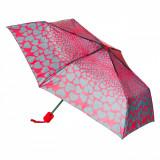 Umbrela, model inimioare coral, 52×90 cm