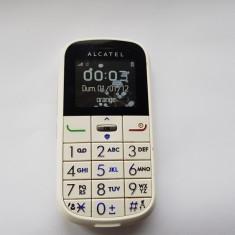TELEFON PENTRU BATRANI ALCATEL, Alb, Nu se aplica, Neblocat