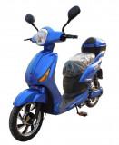 Bicicleta electrica, tip scuter, fara carnet si inmatriculare ZT-09-A CLASSIC ALBASTRU