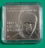 SV * Ungaria   1000  FORINT  2010 * BIRO LASLO JOSEF       UNC   in capsula, Europa, Cupru-Nichel