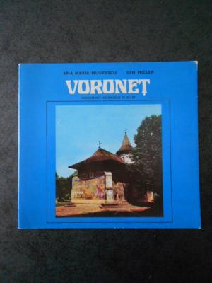 ANA MARIA MUSICESCU, ION MICLEA - VORONET (limba franceza, ghid) foto