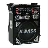 Radio portabil Waxiba XB-182URT, suport card SD/USB