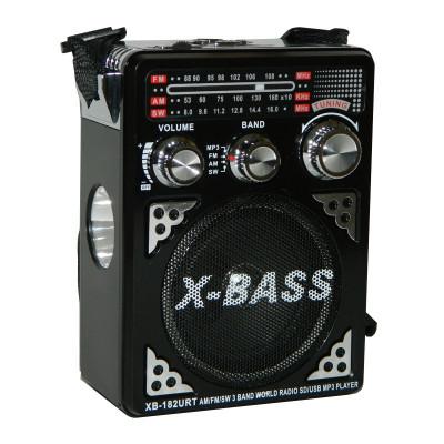 Radio portabil Waxiba XB-182URT, suport card SD/USB foto