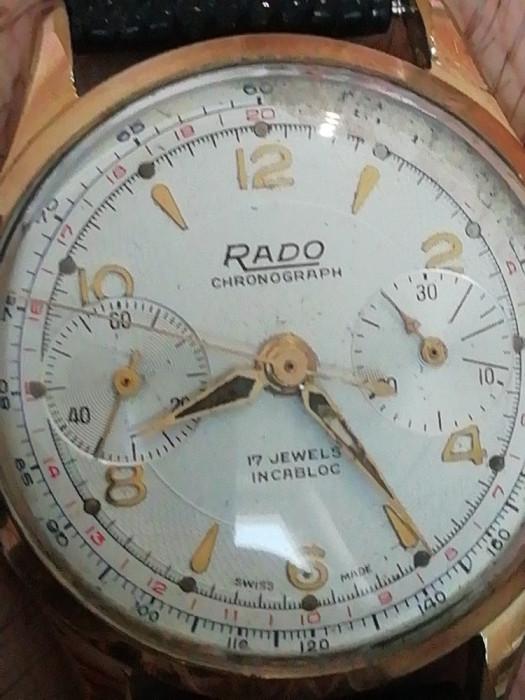 Rado chronograph