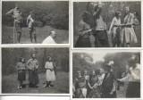 4 fotografii tineri sași Sebes Alba Transilvania 1931