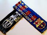 Fular fotbal JUVENTUS TORINO - FC BARCELONA(Finala 2015)are un mic defect