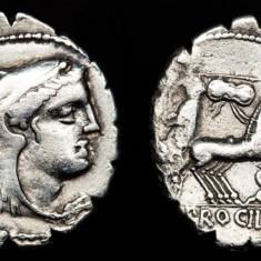 Moneda antica -Denarius de argint -Roma 80 B.C.