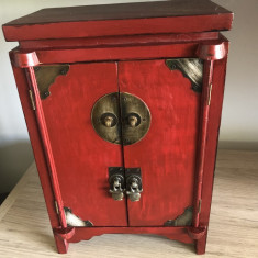 Dulapior  vechi francez,din lemn,sertar interior