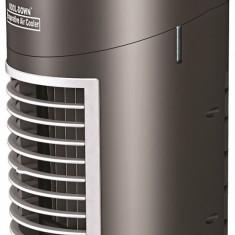 Cooler Ventilator Portabil Racire prin Vaporizare cu Umidificare, pe Baterii