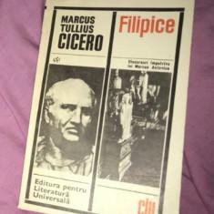 Filipice : discursuri impotriva lui Marcus Antonius / Cicero ELU 1968