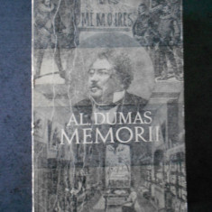 AL. DUMAS - MEMORII