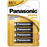 Baterii Panasonic Alkaline Power Bronze LR6/AA 4 bucati