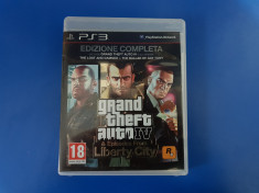 Grand Theft Auto GTA IV Complete Edition & Episodes from Liberty City  - joc PS3 foto