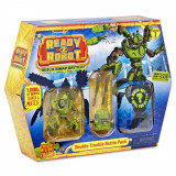 Set de lupta Ready2Robot Seria 1, Battle Pack - Double Trouble (553908E5C)