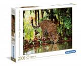 Puzzle Clementoni - Leopard - 2000 de piese - High Quality