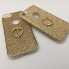 Husa  cu inel  iphone 7   / iRing / Sclipici