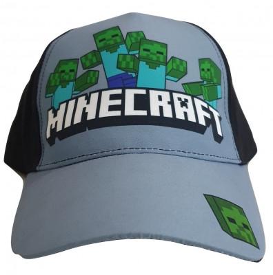 Sapca Minecraft Zombie attack , Ajustabila , ORIGINAL, Mojang, 8 ani + foto