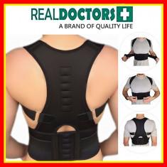 Centura Spate Magneti Real Doctor Centura Corectoare Postura Magneti Unisex