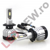 Kit bec pentru far cu led HML3 H7 7000 Lumeni X7B CANBUS