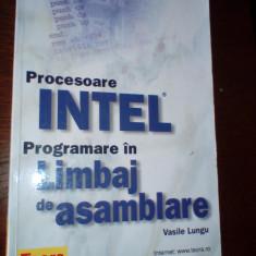 Lungu Procesoare Intel Programare in limbaj de asamblare Teora