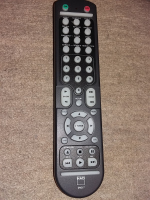 Telecomanda originala NAD DVD 7 foto
